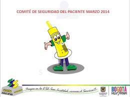 COMITE DE SEGURIDAD MARZO 2014