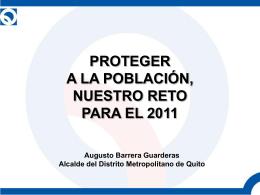 Slide 1 - Agencia Pública de Noticias de Quito