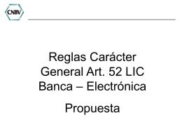 8265.66.59.6.Presentación Reglas art 52 LIC - Banca