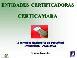 Entidades de Certificación en Colombia