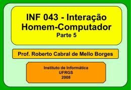 Ergonomia de Hardware - Instituto de Informática