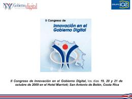 II Congreso de Innovación en el Gobierno Digital