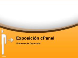 cPanel - Desarrollo de Aplicaciones Multiplataforma