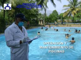 operación y mantenimiento de piscinas