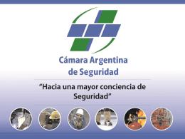 Diapositiva 1 - Cámara Argentina de Seguridad