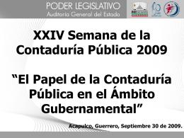 El Proceso de Fiscalización Municipal en Guerrero