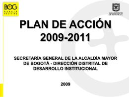 Diapositiva 1 - Alcaldía Mayor de Bogotá