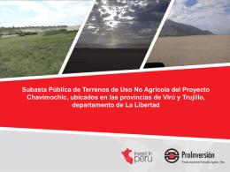 Subasta de Terrenos de uso no agrícola ACTUALIZADO