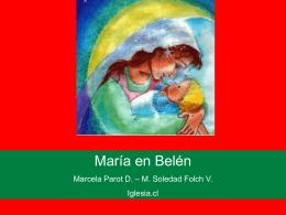 Cuento de María en Belén