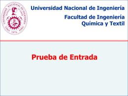 Diapositiva 1 - Universidad Nacional de Ingeniería