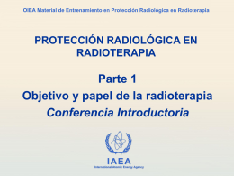 Material de Entrenamiento sobre Protección Radiológica en