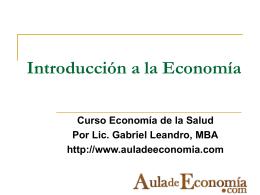Economía y administración