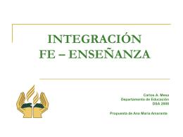 Integración Fe