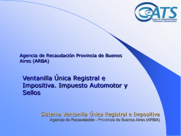 Sistema de Ventanilla Única Registral e Impositiva