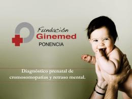 Prevención de cromosomopatías