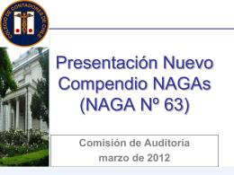 Presentación_nuevo_Compendio_NAGAs_marzo_2012