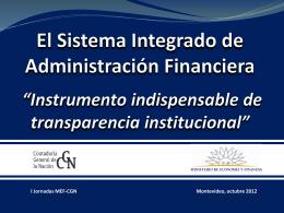 Presentación División Sistemas - Contaduría General de la Nación