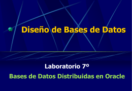 DBD Laboratorio 7º 3
