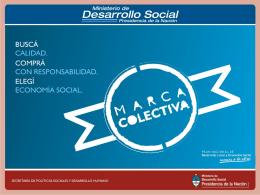 Presentación Ministerio de Desarrollo Social