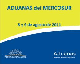 URUGUAY - Aduanas del Mercosur