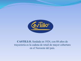 Dpto. de Administración de Cartera – Castillo Sacifia