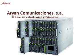 Virtualización y Datacenter
