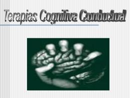 Terapias Cognitivo Conductuales