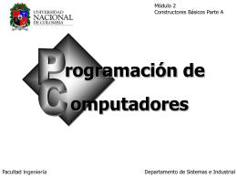 (a) b - Departamento de Ingeniería de Sistemas e Industrial