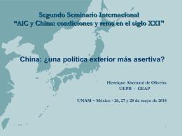 Curso de Introdução às Relações Internacionais - red alc