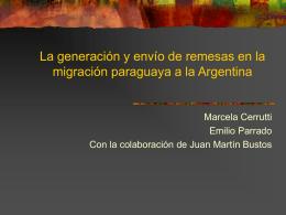 Migración del Paraguay a la Argentina: género, trabajo y