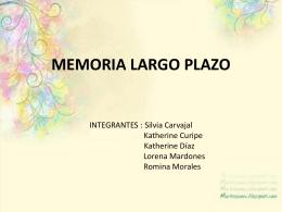 DISERTACION MEMORIA LARGO PLAZO (1)