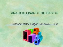 ANALISIS DE SOLIDEZ Y EQUILIBRIO FINANCIERO Balance