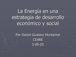 La energía en el largo plazo