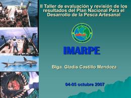 Exposición Resultados IMARPE