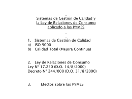 EVOLUCION DE LA CERTIFICACION ISO 9000 EN EL MUNDO