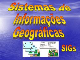 dados espaciais - Mundo da Geomatica