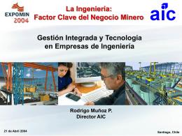 Gestión Integrada y Tecnología en Empresas de Ingeniería.