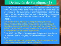 Cas 1 paradigmas