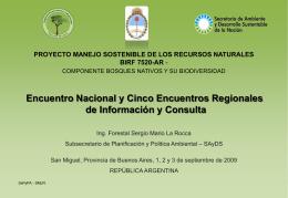 Los Bosques Nativos en el Mundo y la Argentina