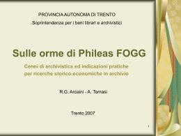 Diapositiva 1 - Trentino Cultura