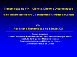 Transmissão de VIH