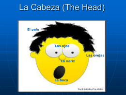 La Cabeza (The Head)