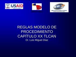 Reglas Modelo Capítulo_XX_NAFTA