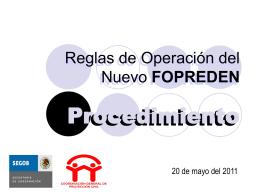 fopreden - Fortalecimiento Municipal, AC