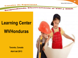 General description of Learning Center