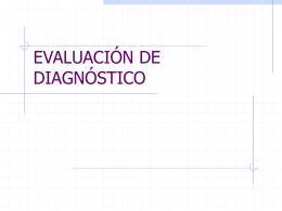 EVALUACIÓN DE DIAGNOSTICO - Colegio Ikastola Berriotxoa