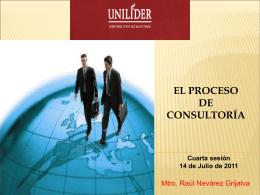 El proceso de consultoría 2011