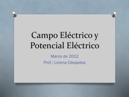Campo Electrico y Potencial Electrico