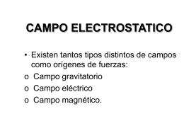 campo electrostatico