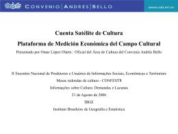 Cuenta Satélite de Cultura